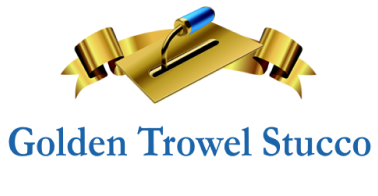 Golden Trowel Stucco Logo