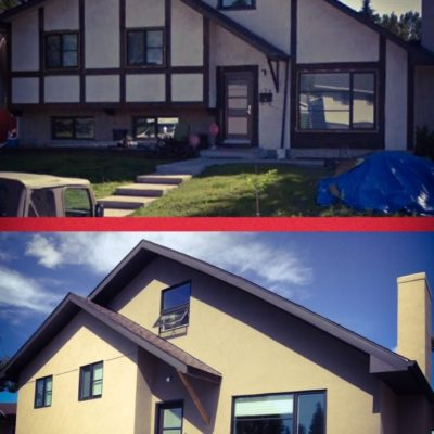 Stucco repair calgary